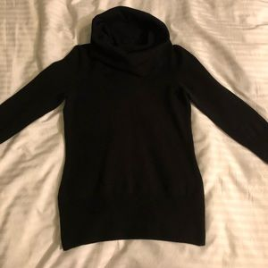 Black French Connection cowl neck sweater
